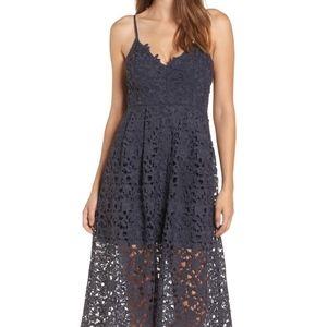 Lace Midi Dress ASTR THE LABEL